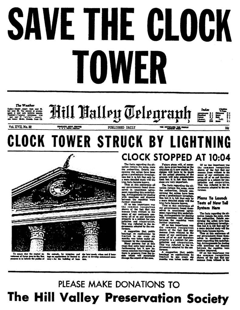 Salven la torre del reloj - Save The Clock Tower
